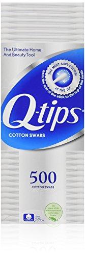 Q Tips Cotton Swabs Size 500s Q-Tips Cotton Swabs 500ct
