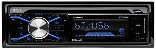 BOSS Audio Single Din, Bluetooth, CD/MP3/WMS/USB/SD AM/FM Car Stereo, Wireless Remote