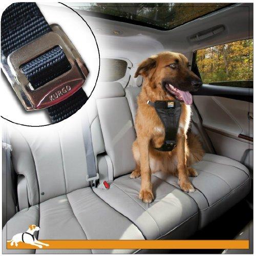Kurgo Tru-Fit(TM) Crash Tested Dog Harness, Black, Large