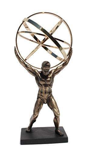 Atlas Carrying The Celestial Spheres Statue
