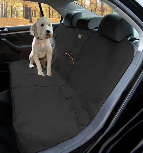 Kurgo Wander Dog Car Seat Cover, Black - Stain Resistant - Waterproof - Universal Fit