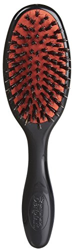 Denman Grooming Brush with Natural Bristle and Nylon Pins