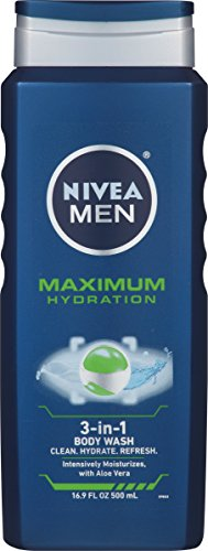 NIVEA Men Maximum Hydration 3 in 1 Body Wash
