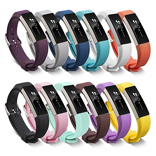 BeneStellar Fitbit Alta Bands with Steel Buckle