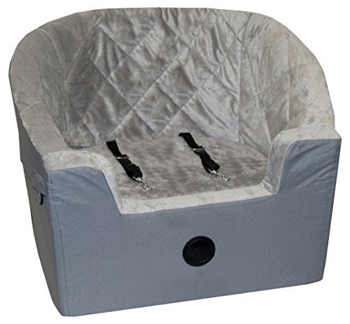 """K&H Pet Products Bucket Booster Pet Seat Small Gray 14.5"""" x 20"""""""