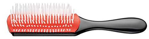 Denman Cushion Brush Nylon Bristles, 7-Row