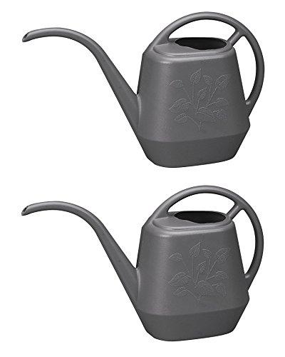 Bloem Aqua Rite Watering Can, 144 oz, Peppercorn