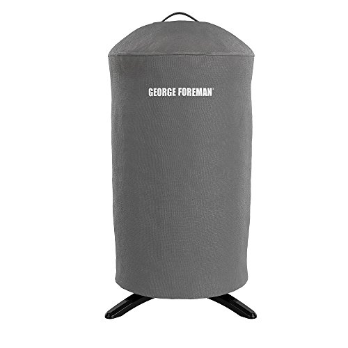 George Foreman Round Grill Cover, Gray