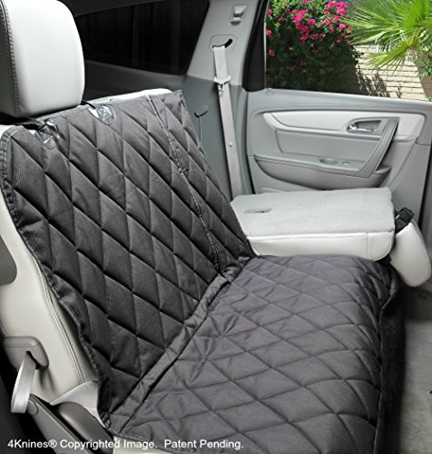 4Knines Dog Seat Cover with Hammock For Fold Down REAR BENCH SEAT