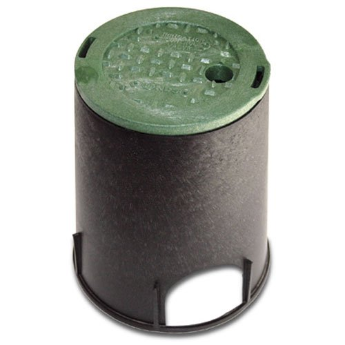NDS 107BC Standard Series Round Valve Box Overlapping Cover-ICV