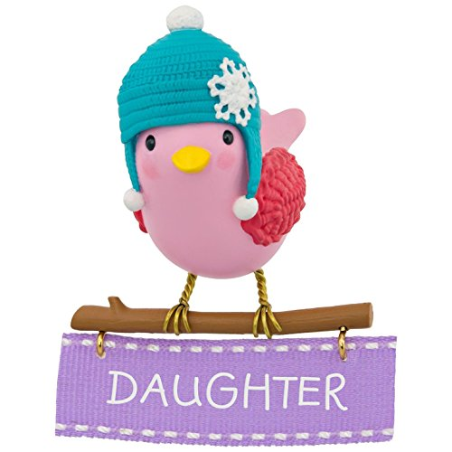 Hallmark Keepsake 2017 Winter Bird Daughter Christmas Ornament