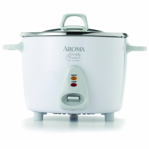 Aroma Housewares Simply Stainless 14-Cup (Cooked
