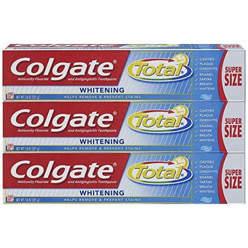 Colgate Total Whitening Toothpaste, Gel