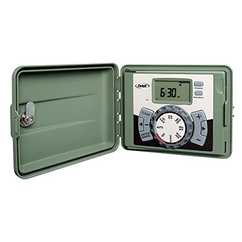 Orbit 6-Station Outdoor Swing Panel Sprinkler System Timer
