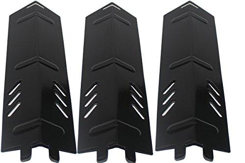 "Grill Valueparts Porcelain Enamel Steel Heat Plate (3-pack) for Backyard Grill Models Uniflame(Dims: 13 1/16 X 3 5/8"")"