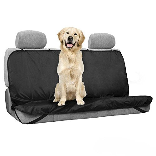 Happy-Paws Waterproof Pet Seat Cover for Backseat