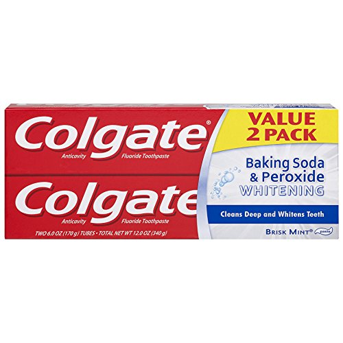 Colgate Baking Soda and Peroxide Whitening Toothpaste - 6 ounce