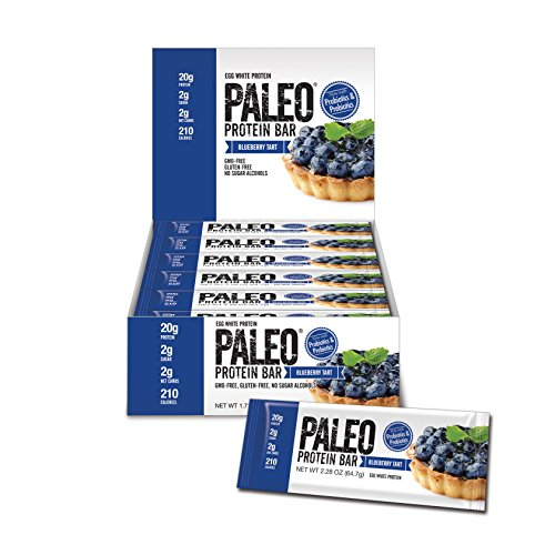 Paleo Protein Bar (Blueberry Tart) 12 Bars