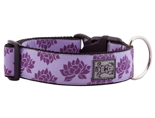 RC Pet Products 1-1/2-Inch Wide Dog Clip Collar, Large, Nirvana