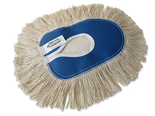 "Turkey Creek Essentials 10"" x 6.5"" Wedge Dust Mop Refill for Industrial"