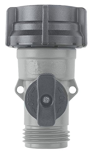Gilmour 20 Pack Plastic Water Faucet Coupling with Shut-Off Valve