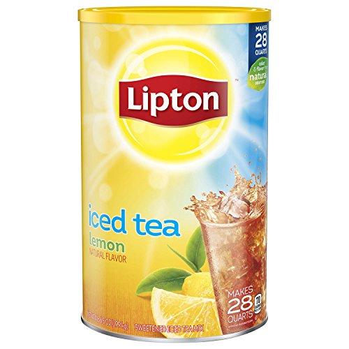 Lipton Iced Tea Mix, Lemon, 28 qt