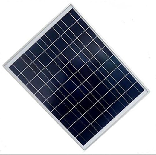 30w Watts Poly Solar Panels Tempered Glass & Al Frame Rvs Boat Grade a Cell