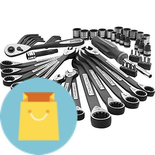 Craftsman 56-piece Universal Mechanics Tool Set
