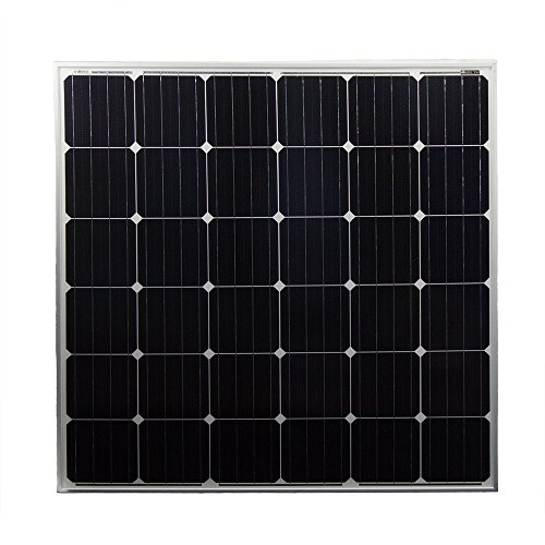 150 Watt Monocrystaline Solar Panel - Mighty Max Battery brand product