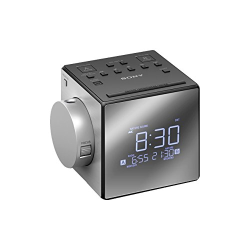 Sony ICFC1PJ Clock Radio with Time Projector (1.57-Inch Speaker)