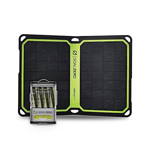 Goal Zero Guide 10 Plus Solar Recharging Kit with Nomad 7 Plus Solar Panel