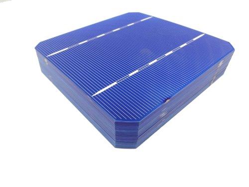 MISOL Mono Solar Cell 5x5 2.8w, GRADE A, monocrystalline cell