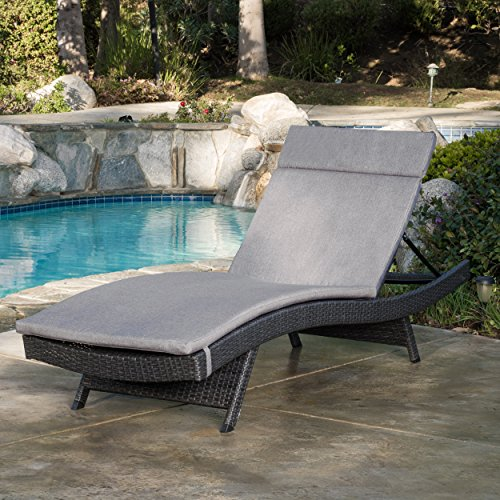 Christopher Knight Home Salem Chaise Outdoor Lounge