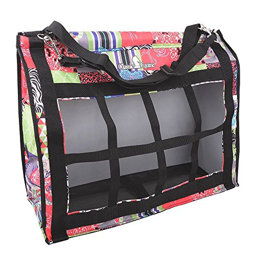Classic Rope Company Designer Top Load Hay Bag Patchwork