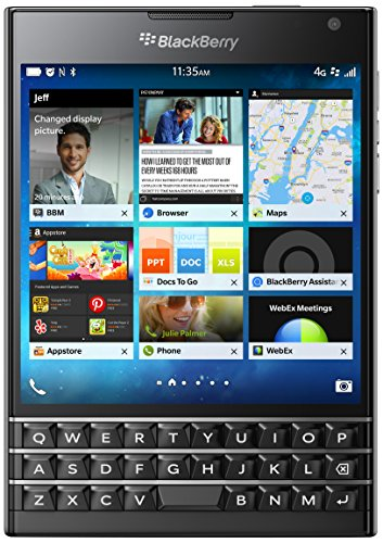 BlackBerry Passport 32GB Factory Unlocked (SQW100-1) GSM 4G LTE Smartphone