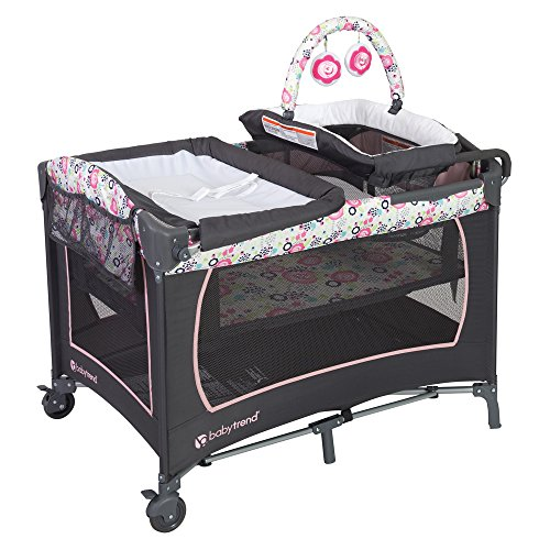Baby Trend Lil Snooze Deluxe Nursery Center