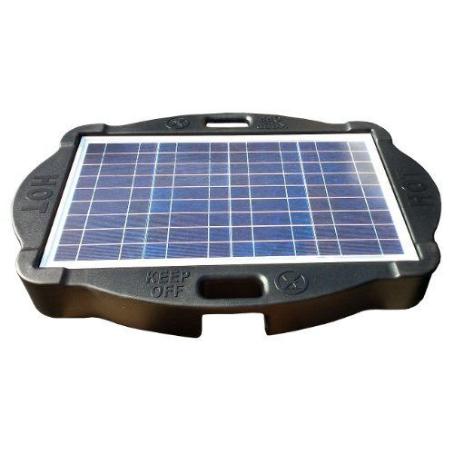 Natural Current Savior Solar Powered Spa Cover, Float Body Base