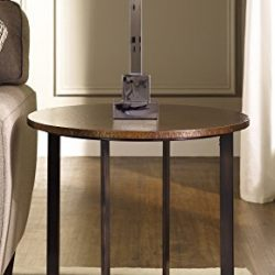 HomeHome, Garden And Tools Hammary Nueva Round End Table In Copper