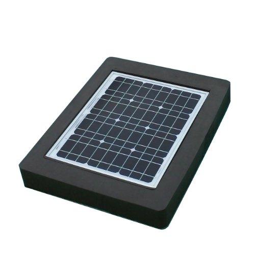 Natural Current Savior Pond Solar Pump and Filter System, 20-watt