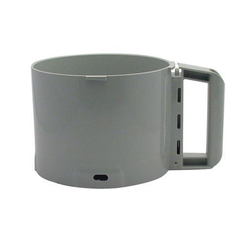 Robot Coupe 3 Quart Food Processor Cutter Bowl, Gray