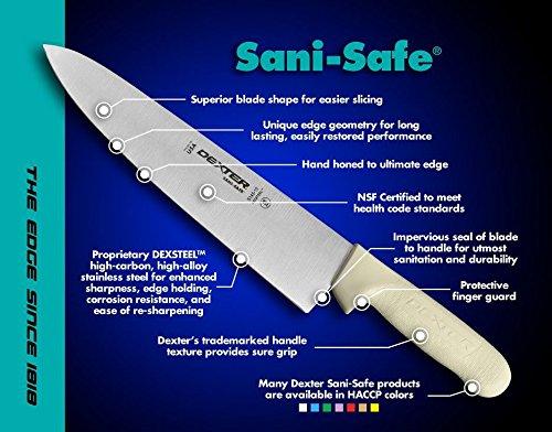 "Dexter Russell S132-10PCP 10"" Cimeter - Sani-Safe Series"