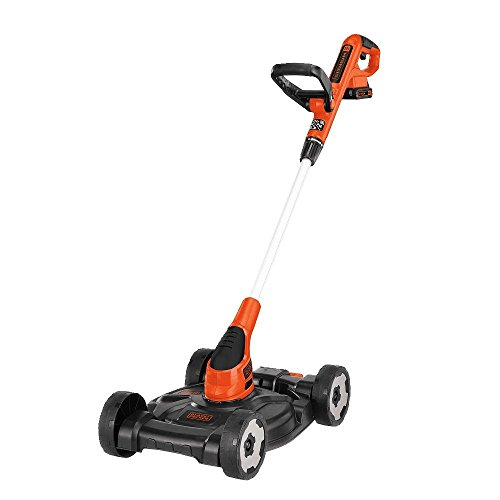 BLACK+DECKER 12-Inch Lithium Cordless 3-in-1 Trimmer/Edger and Mow