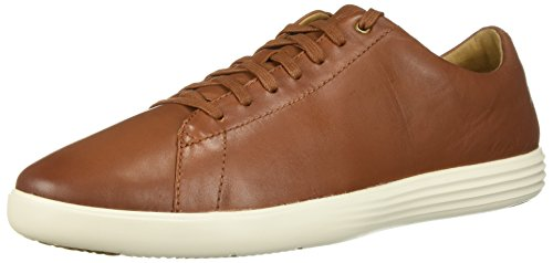 Cole Haan Mens Grand Crosscourt II Tan Leather Burnish 10.5 W - Wide