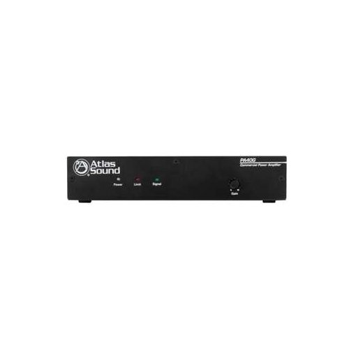 Atlas Sound PA40G 40W Single Channel Power Amplifier with Global Power Supply