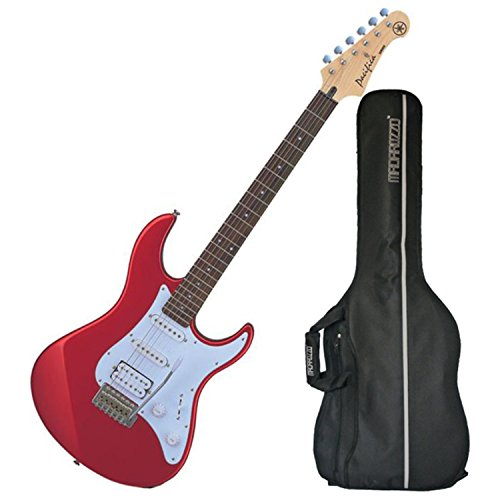 Yamaha PAC012 Pacifica Electric Guitar (Metallic Red) w/ Gig Bag