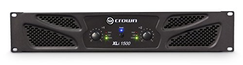 Crown XLi1500 Two-channel - 450W at 4Ω Power Amplifier