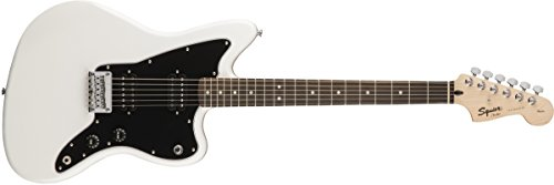 Fender 313210580 Squier by Affinity Series Jazzmaster Electric Guitar - HH - Rosewood Fingerboard - Arctic White