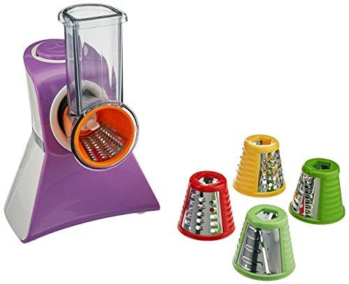 Cooks Club USA Salad Maker Food Processor, Mini, Purple