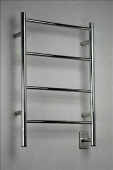 Jeeves I Straight Polished Towel Warmer by Amba Part No. ISP-20 by Amba Towel Warmers