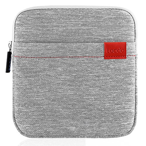 Lacdo Waterproof External USB CD DVD Writer Blu-Ray Protective Storage Carrying Case Bag for Apple MD564ZM/A SuperDrive, Apple Magic Trackpad, SAMSUNG / LG / Dell / ASUS / External DVD Drives, Gary